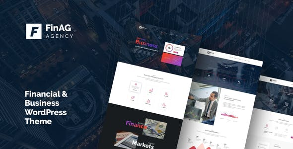 Finag - Creative &  Finance Agency WordPress Theme by themeton