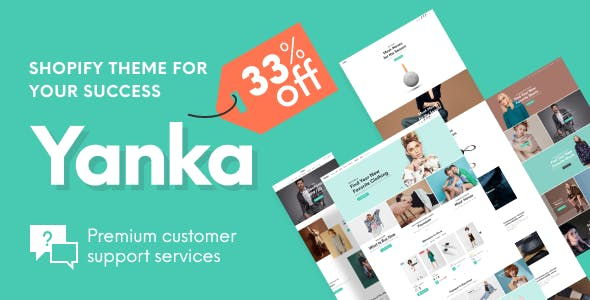 Yanka - Fashion Multipurpose Shopify Theme