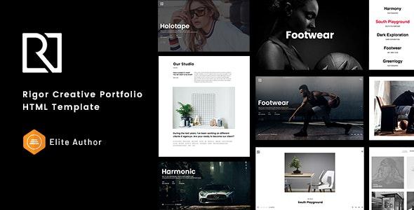 Rigor - Creative Portfolio HTML Template - Portfolio Creative