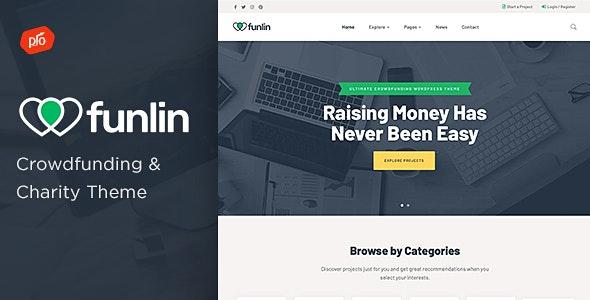 Funlin - Crowdfunding & Charity Theme - Charity Nonprofit