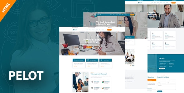 Pelot - Consulting, Business, Finance HTML5 Template - Business Corporate