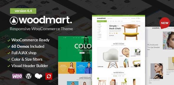 WoodMart - Responsive WooCommerce WordPress Theme - WooCommerce eCommerce