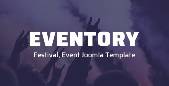 Eventory - Festival, Event Joomla Template - Events Entertainment