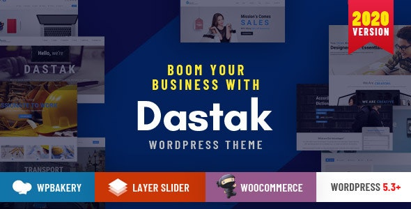 Dastak - A Multipurpose Responsive Theme - Business Corporate