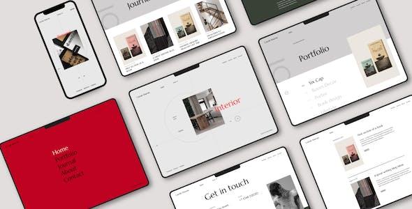 Liga - Personal Portfolio WordPress Theme
