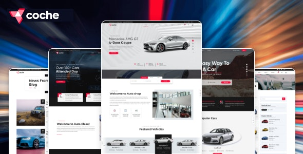 Coche - Car servicing HTML Template - Business Corporate