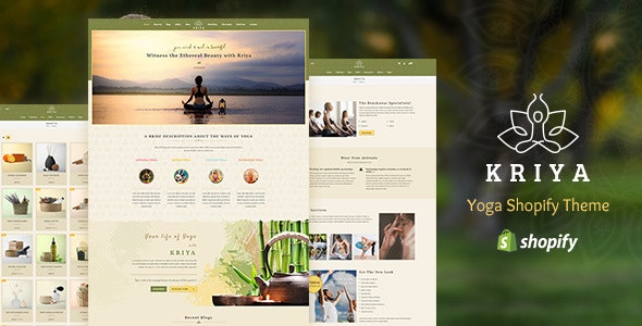 Kriya Yoga - Health, Meditation and Yoga WordPress Theme - Health & Beauty Retail
