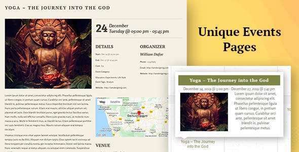 Kriya Yoga - Health, Meditation and Yoga WordPress Theme