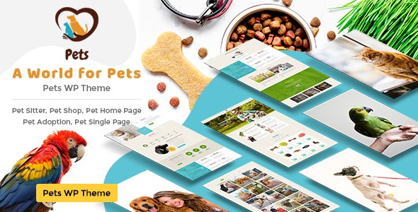 Pet World - Dog Care & Pet Shop - Experimental Creative
