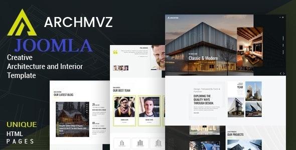 Archmvz - Architecture & Interior Joomla Template - Business Corporate