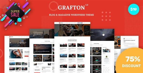 Grafton - Blog & Magazine WordPress Theme - Blog / Magazine WordPress