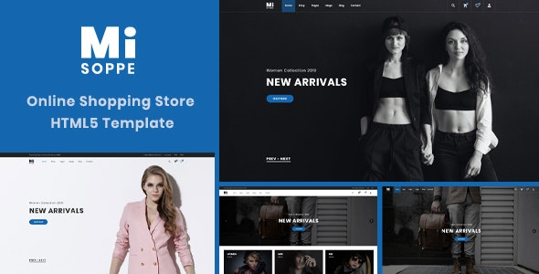 MiSoppe - eCommerce & Online Shop HTML5 Template - Shopping Retail