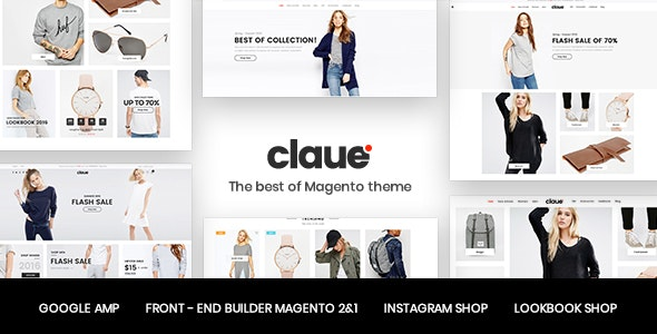 Claue - Clean, Minimal Magento 2 and 1 Theme by ArrowHiTech | ThemeForest