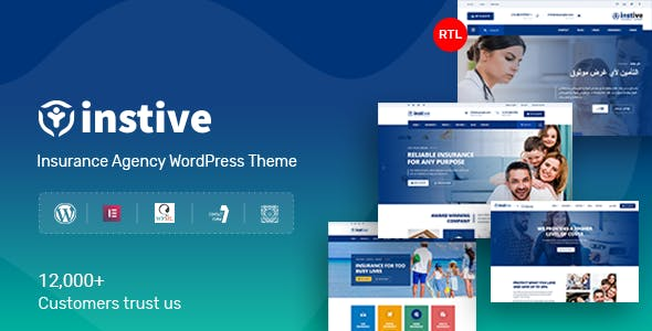 Download Instive - Insurance WordPress Theme