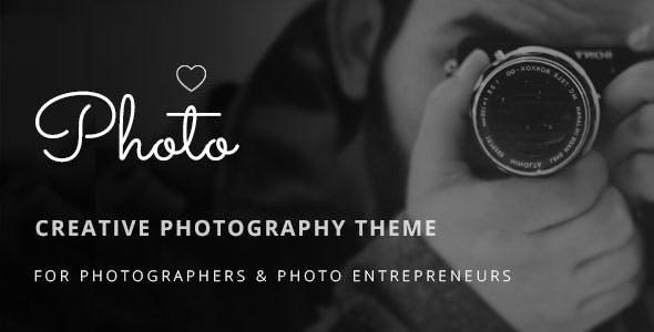 Photoluv - Creative Theme for Photographers & Photo Entrepreneurs