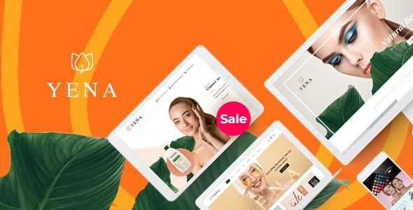 Yena – Beauty & Cosmetic WooCommerce Theme - WooCommerce eCommerce