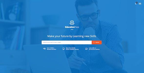 EducationPress - Complete Education WordPress Theme