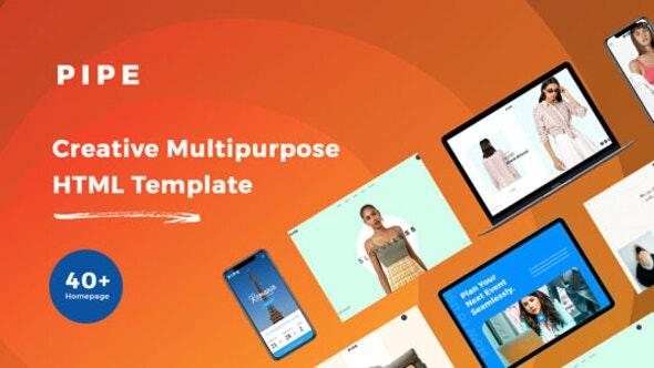 Pipe - HTML Responsive Multi Purpose Template - Creative Site Templates