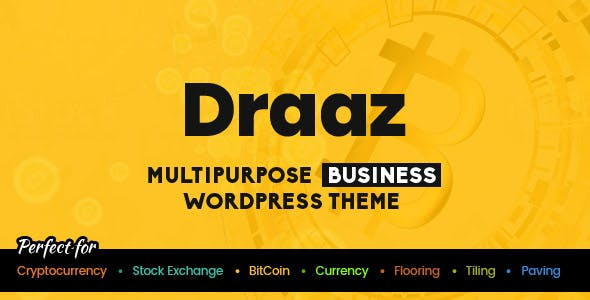 Download Draaz - Cryptocurrency and Flooring Multipurpose Business WordPress Theme