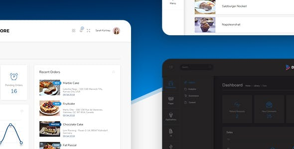 Dore jQuery - Bootstrap 4 Admin Template