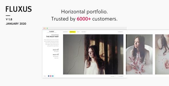 Fluxus - Portfolio Theme for Photographers - Photography Creative