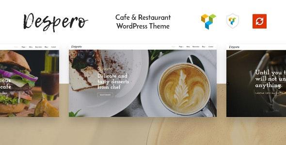 Despero - Cafe & Restaurant WordPress Theme - Restaurants & Cafes Entertainment