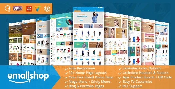 EmallShop - Responsive WooCommerce WordPress Theme - WooCommerce eCommerce