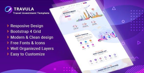 Travula - Travel Investment Websites HTML Templates