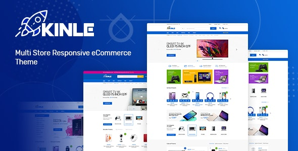 Kinle - Responsive Prestashop Theme - Technology PrestaShop