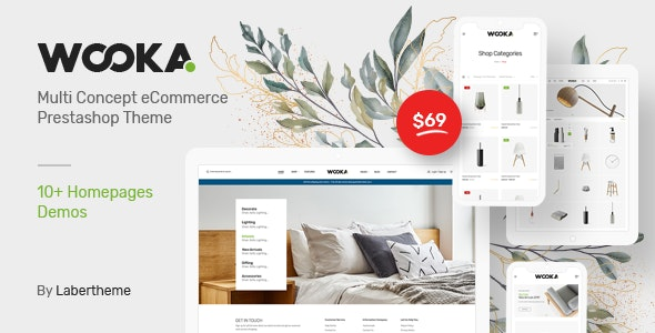 Wooka - Responsive Prestashop 1.7 Theme - Fashion PrestaShop