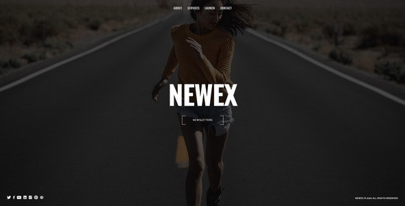 Newex - Under Construction Template - Under Construction Specialty Pages