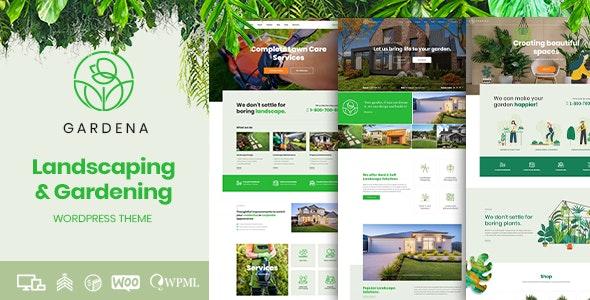 Gardena - Landscaping & Gardening - Business Corporate
