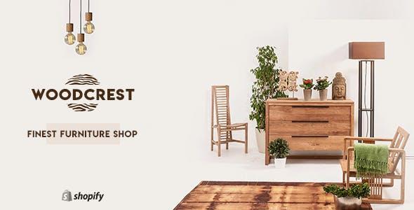 WoodCrest - Furniture Shopify Theme