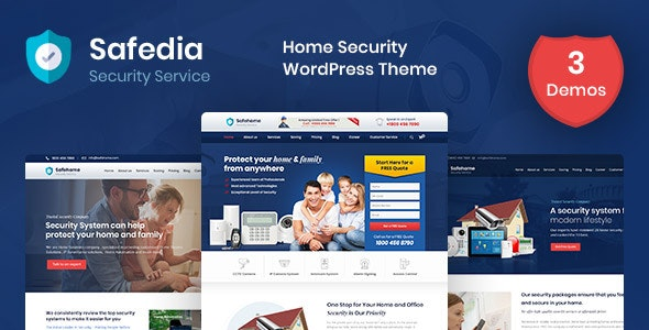 Safedia Theme Preview