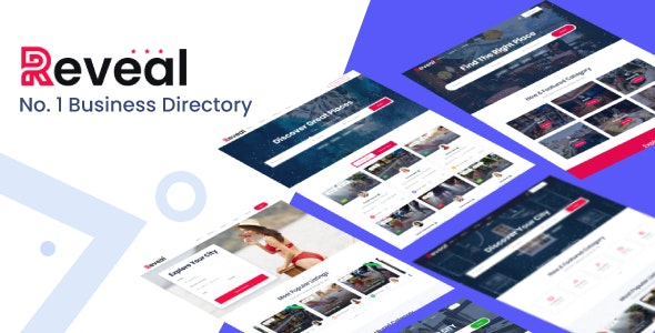 Reveal - Business Directory & Listings HTML Template - Business Corporate