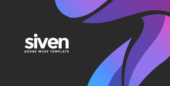 Siven - Adobe Muse Template - Creative Muse Templates