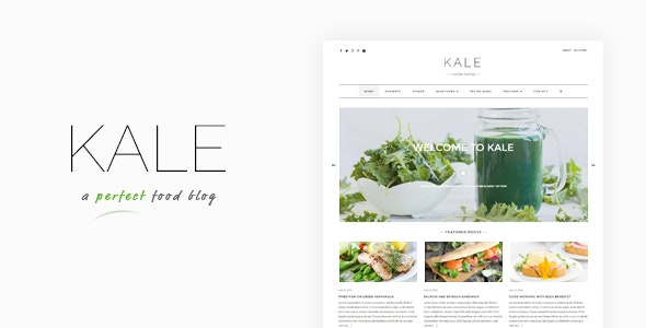 Kale - The Perfect Food and Personal Blog Theme - Personal Blog / Magazine