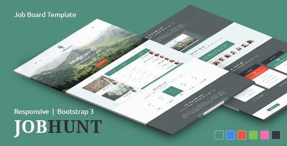 JobHunt - Elegant Job Board HTML Template