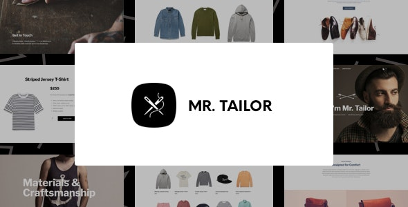 Mr. Tailor - Fashion and Clothing Online Store Theme for WooCommerce - WooCommerce eCommerce