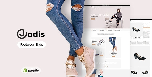 Jadis - Footwear, Shoes Store Shopify Theme - Shopify eCommerce