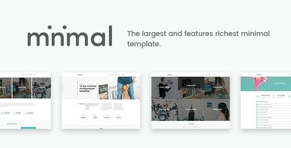 Minimal - White And Clean Joomla Template - Corporate Joomla