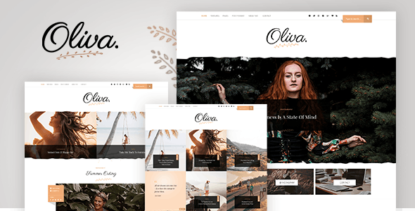Oliva - Personal Blog PSD Template - Personal PSD Templates