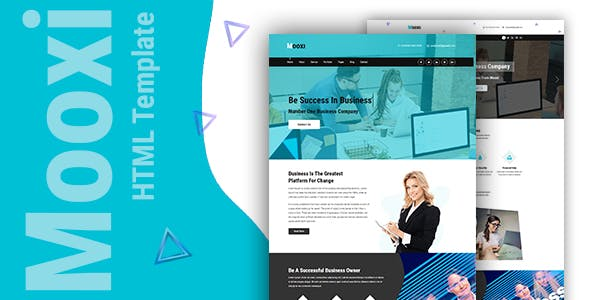 Mooxi - Business And Corporate HTML Template