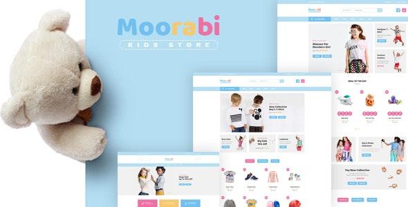 Moorabi - Kids Store HTML Template - Children Retail