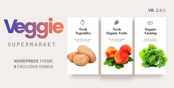 Veggie   Vegetable and Fruit Shop WordPress Theme