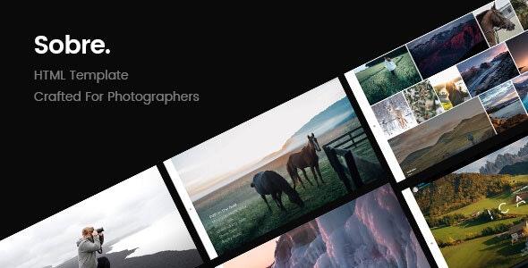 Sobre | Minimal Photography Portfolio HTML Template - Site Templates