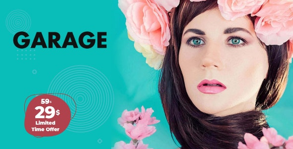 Garage - Creative & Magazine WordPress Theme - Blog / Magazine WordPress