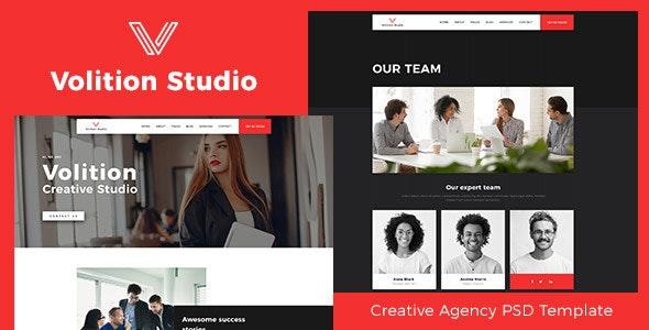 Volition | Creative Studio HTML Template - Creative Site Templates