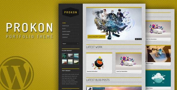 Prokon - clean and easy Portfolio and Blog Theme  - Portfolio Creative