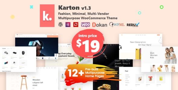 Karton | Multipurpose WooCommerce Theme - WooCommerce eCommerce